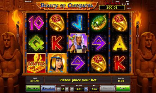 Beauty of Cleopatra free slot