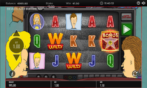 Beavis and Butt-Head free slot