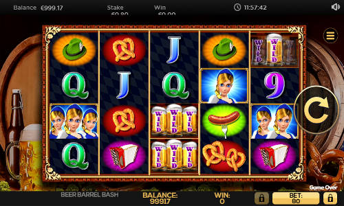 Beer Barrel Bash free slot