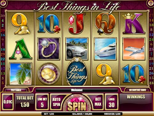 Best Things In Life free slot