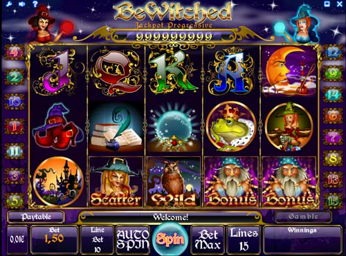 Bewitched free slot
