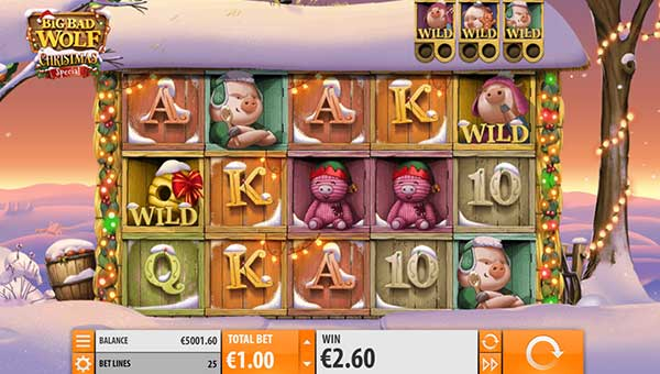 Big Bad Wolf Christmas free slot