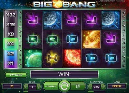 Big Bang free slot