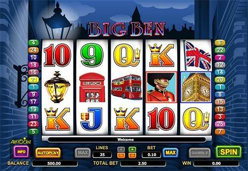 Big Ben free slot