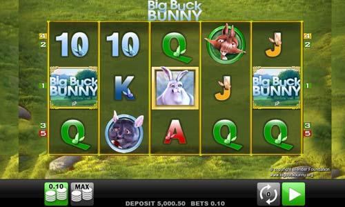 Big Buck Bunny free slot