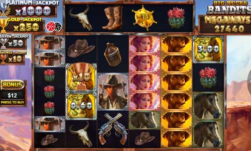 Big Bucks Bandits Megawaysjackpot slot