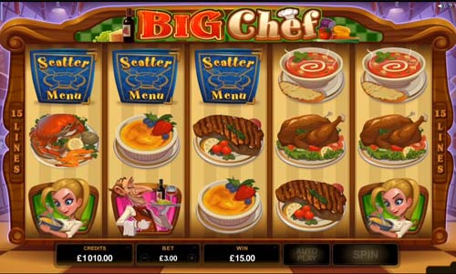 Big Chef free slot