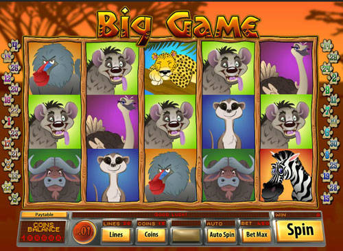 Big Game casino slot