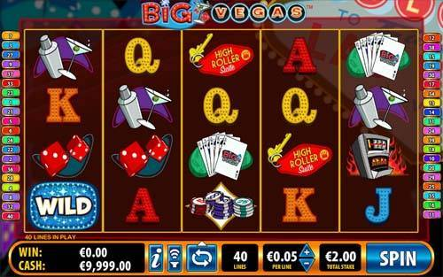 Big Vegas free slot