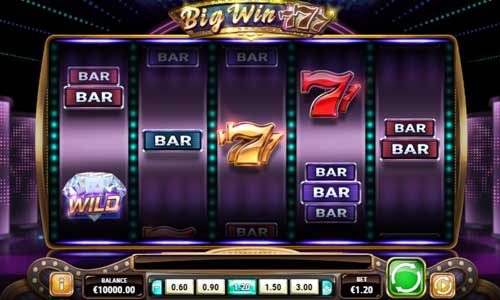 Big Win 777 free slot