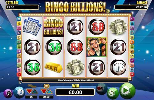 Bingo Billions free slot