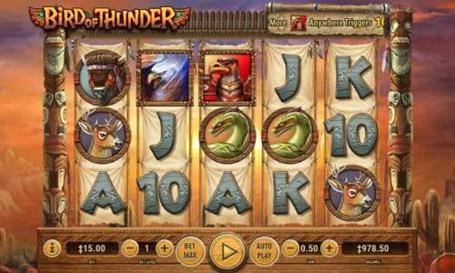 Bird of Thunder free slot