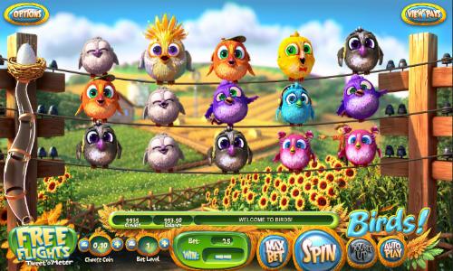 Birds free slot