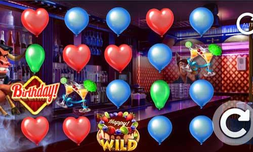 Birthdaysticky wilds slot