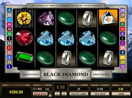 Black Diamond casino slot