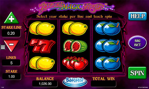 Black Magic Fruits free slot