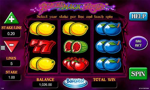 Black Magic Fruits free slot