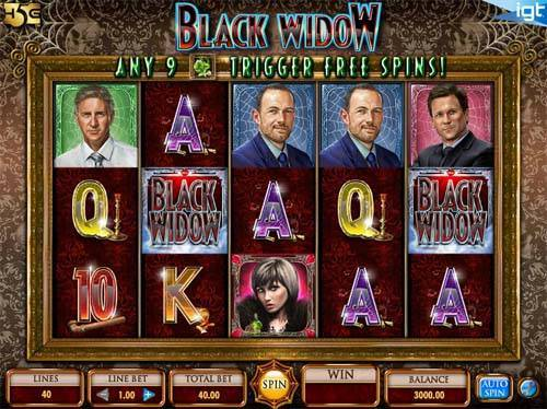 Black Widow free slot