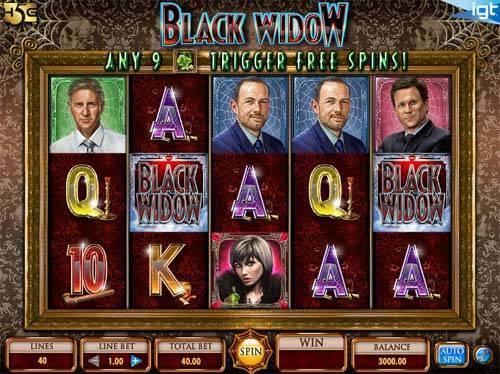 Black Widow free slot