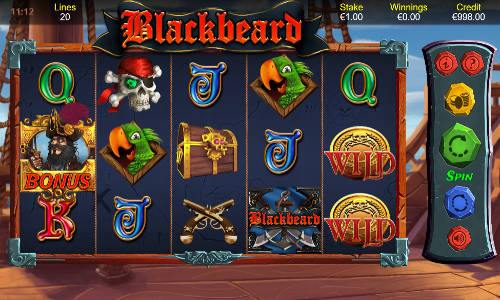 Blackbeard free slot
