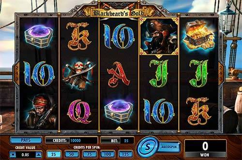 Blackbeards Gold free slot