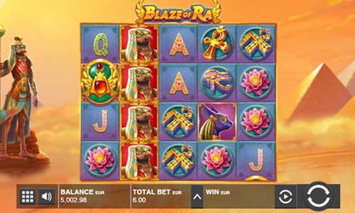 Blaze of Ra free slot