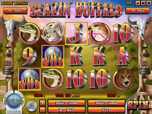 Blazin Buffalo free slot