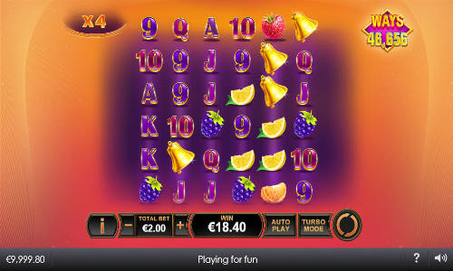 Blazing Bells free slot