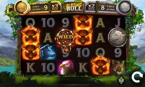 Blazing Bull free slot