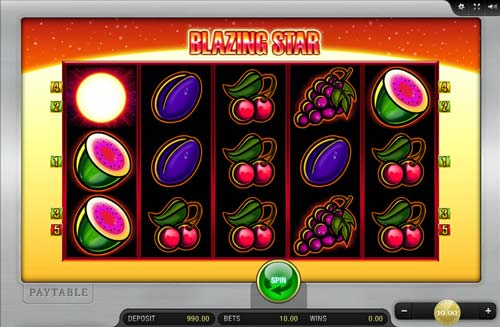 Blazing Star free slot