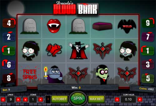 Blood Bank free slot