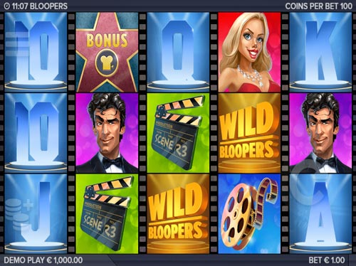 Bloopers free slot