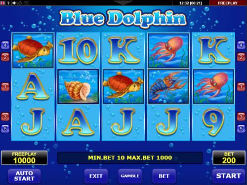 Blue Dolphin free slot