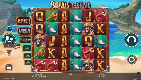 Bonus Island free slot