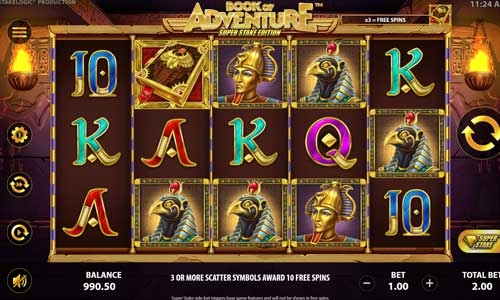 Book of Adventure Super Stake Edition free slot