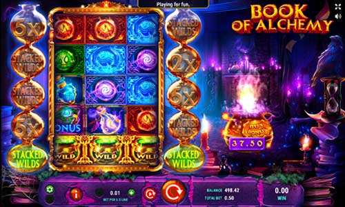 Book of Alchemy casino slot