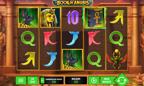 Book of Anubis free slot