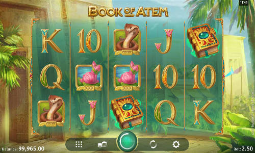 Book of Atem free slot