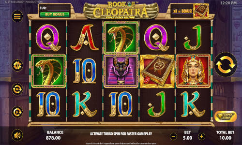Book of Cleopatra Super Stake new slot