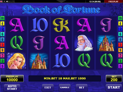 Book of Fortune casino slot