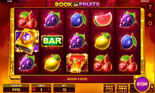 Book of Fruits free slot