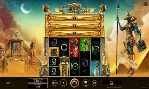 Book of Gatesexpanding reels slot