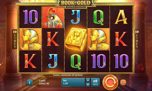Book of Gold Double Chance free slot