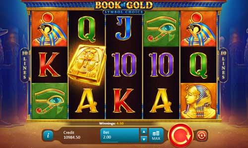 Book of Gold Symbol Choice free slot