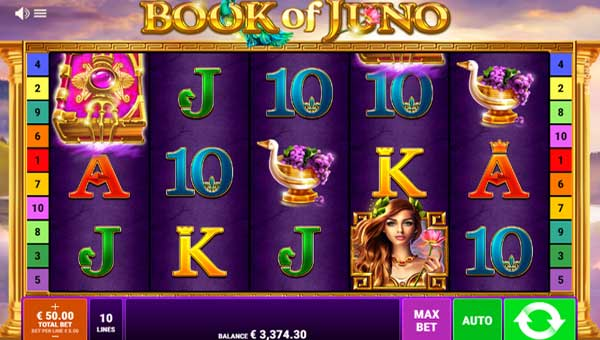 Book of Juno free slot