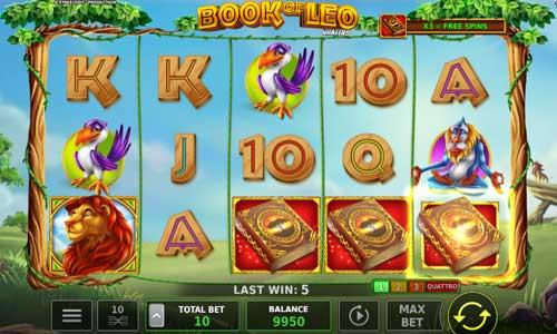 Book of Leo Quattro free slot