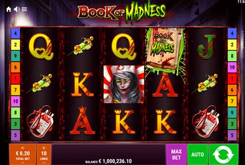 Book of Madness free slot