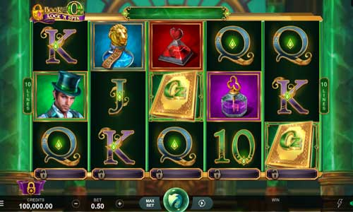 Book of Oz Lock N Spin free slot