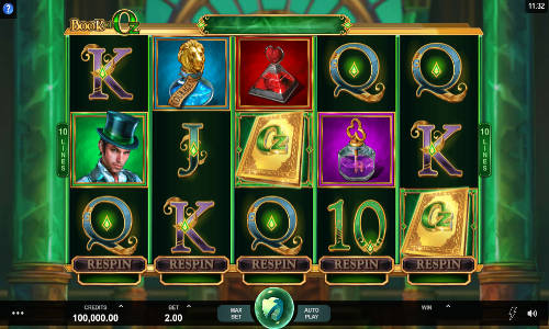 Book of Oz free slot