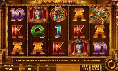 Book of Queen free slot
